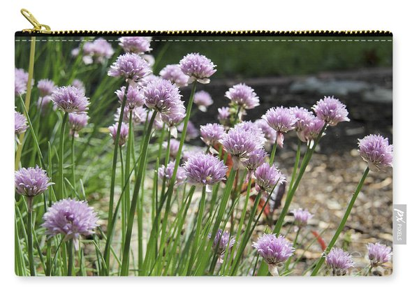 Kitchen Garden Chives Carry-all Pouch