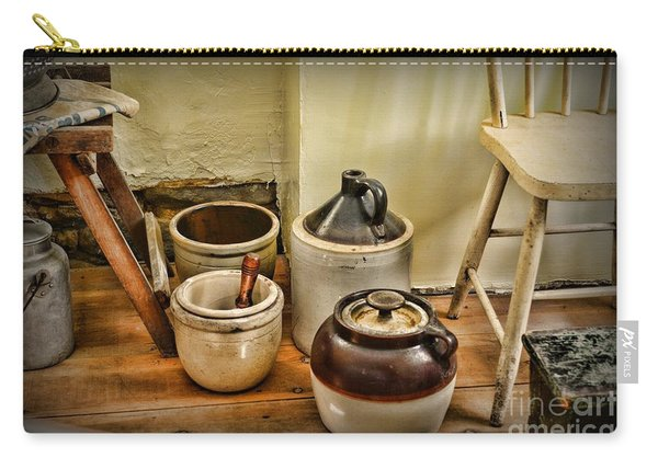 Kitchen Old Stoneware Carry-all Pouch