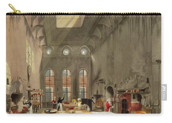 Kitchen, St. Jamess Palace, Engraved Carry-all Pouch