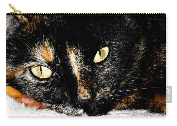 Kitty Face Carry-all Pouch