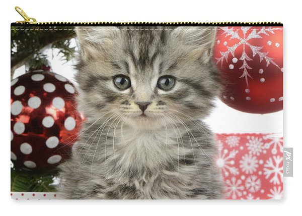 Kitty Xmas Present Carry-all Pouch