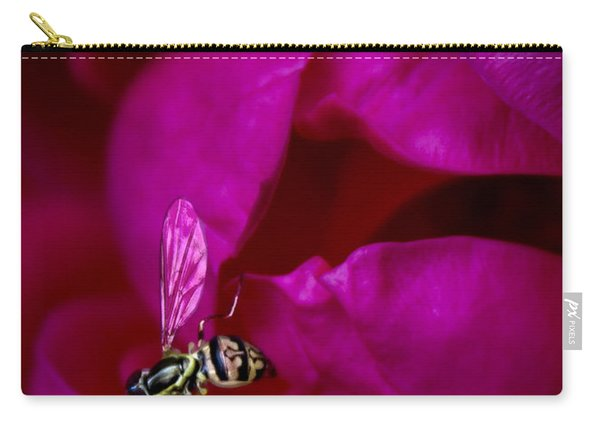 Knockout Rose Investigation Carry-all Pouch