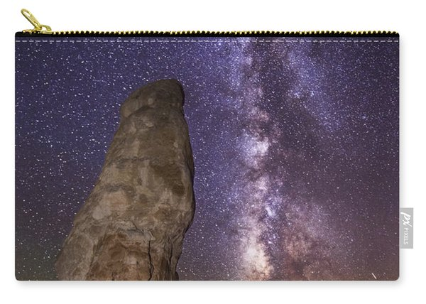 Carry-all Pouch featuring the photograph Kodachrome Galaxy by Dustin  LeFevre