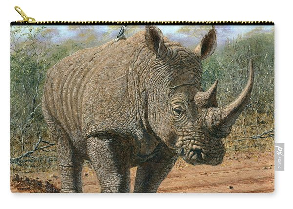 Kruger White Rhino Carry-all Pouch