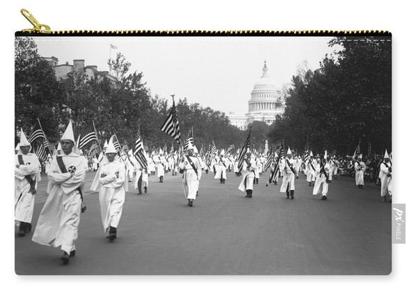 Ku Klux Klan Parade Carry-all Pouch