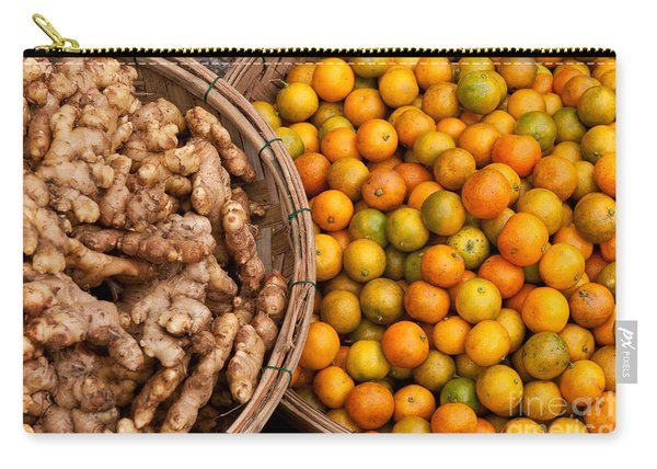 Kumquats And Ginger Carry-all Pouch