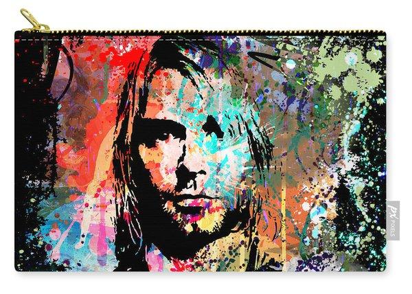 Kurt Cobain Portrait Carry-all Pouch