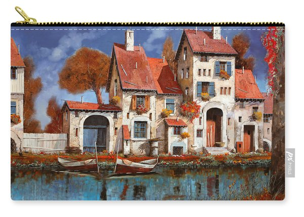 La Cascina Sul Lago Carry-all Pouch