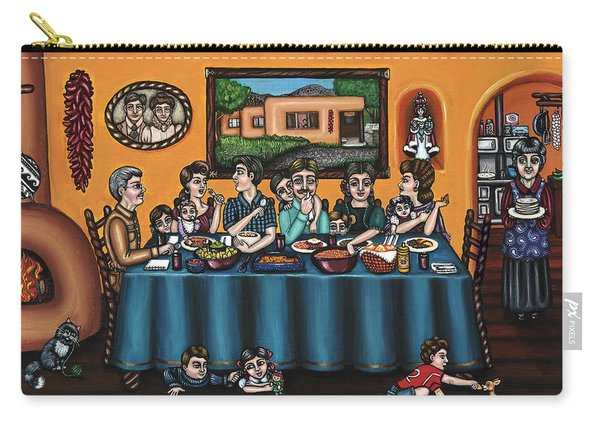 La Familia Or The Family Carry-all Pouch