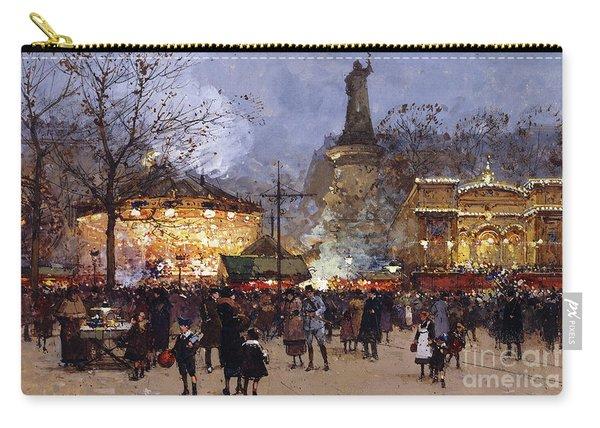 La Fete Place De La Republique Paris Carry-all Pouch