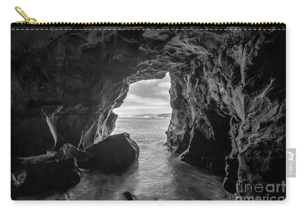 La Jolla Cave Bw Carry-all Pouch