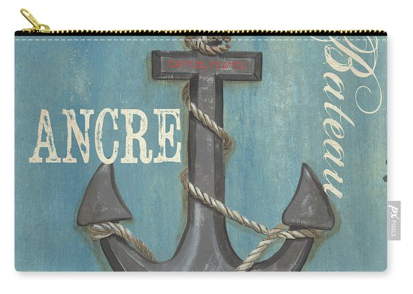 La Mer Ancre Carry-all Pouch
