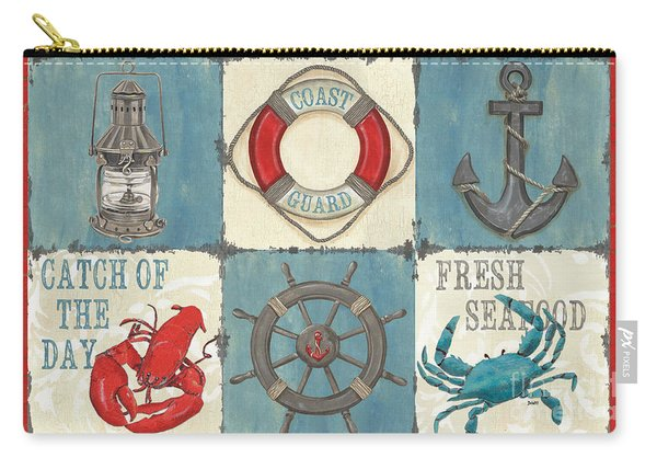 La Mer Collage Carry-all Pouch