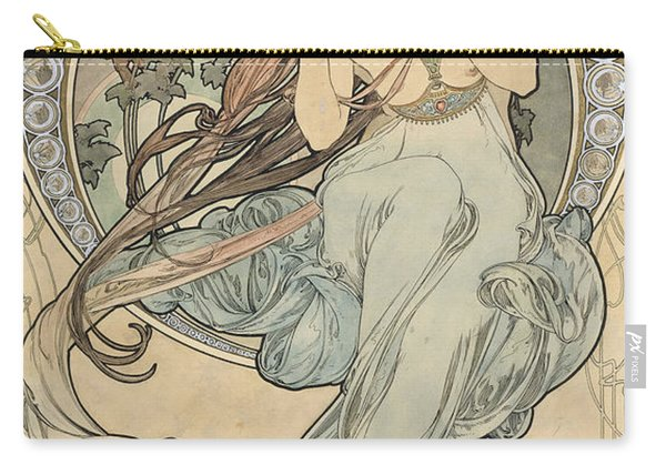 La Musique, 1898 Watercolour On Card Carry-all Pouch