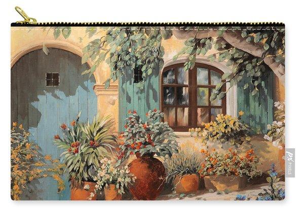 La Porta Azzurra Carry-all Pouch