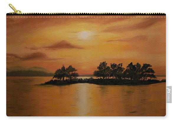 Lac La Biche  Sunset Carry-all Pouch