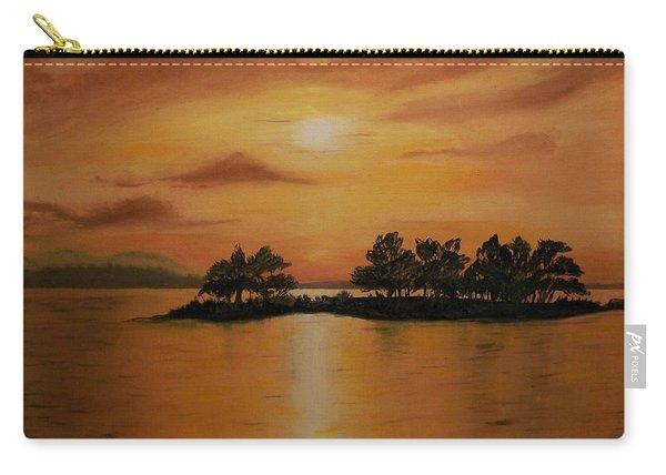 Lac La Biche  Sunset Carry-all Pouch