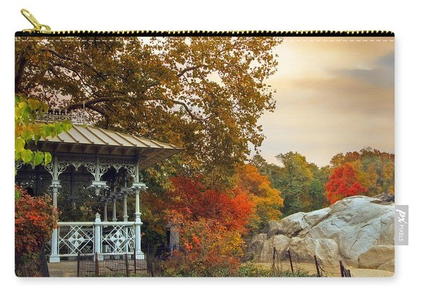 Ladies Pavilion In Autumn Carry-all Pouch