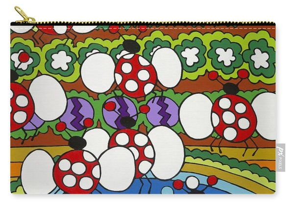 Lady Bugs Carry-all Pouch