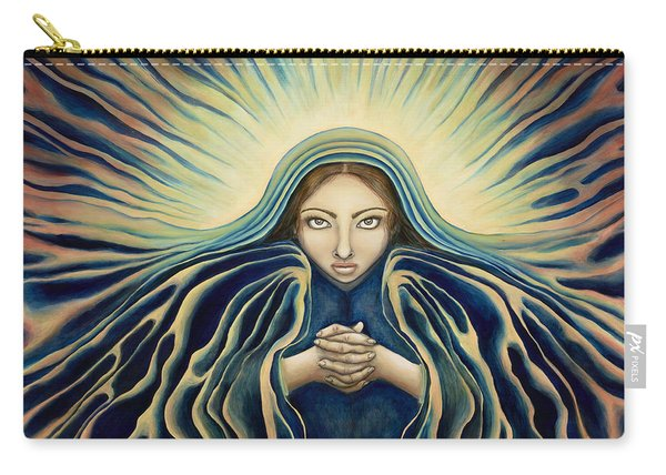 Lady Of Light Carry-all Pouch