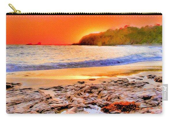 Laguna Beach At Sunset Carry-all Pouch