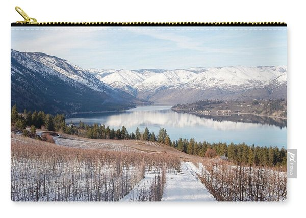 Lake Chelan In Winter Carry-all Pouch