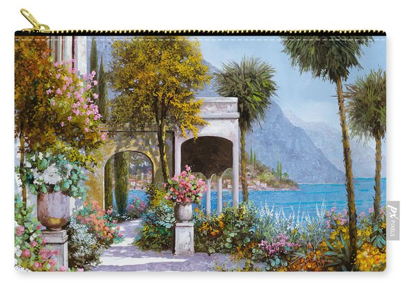 Lake Como-la Passeggiata Al Lago Carry-all Pouch