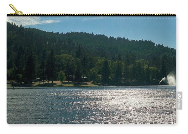 Scenic Lake Photography In Crestline California At Lake Gregory Carry-all Pouch
