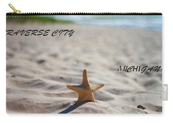 Lake Michigan Beach Traverse City Carry-all Pouch