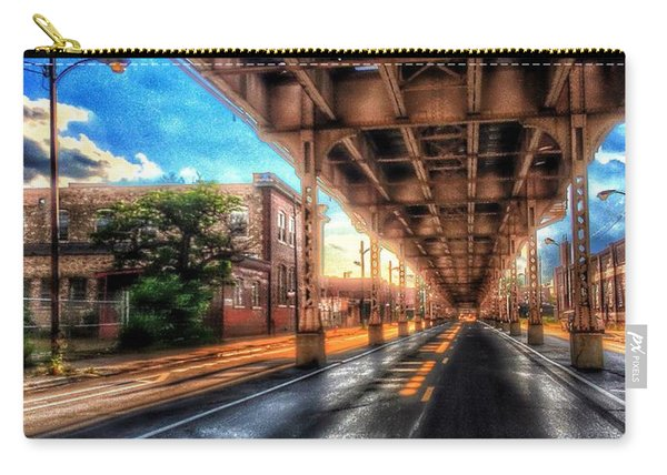 Lake Street El Tracks Carry-all Pouch