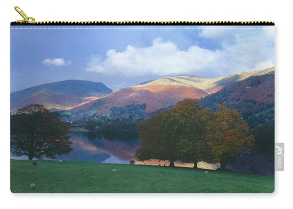 Lake Surrounded By Mountains, Grasmere Carry-all Pouch