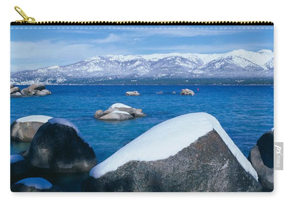 Lake Tahoe In Winter, California Carry-all Pouch