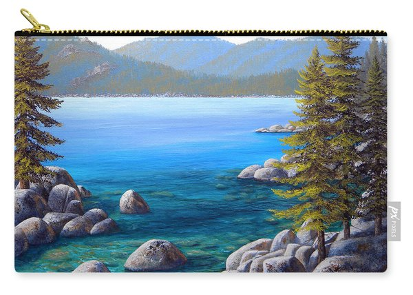 Lake Tahoe Inlet Carry-all Pouch
