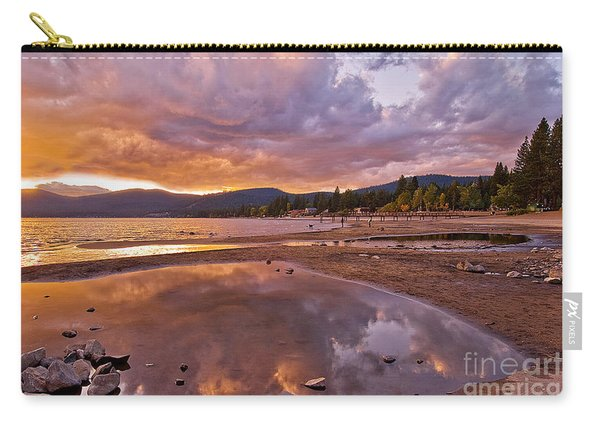 Carry-all Pouch featuring the photograph Lake Tahoe by Mae Wertz