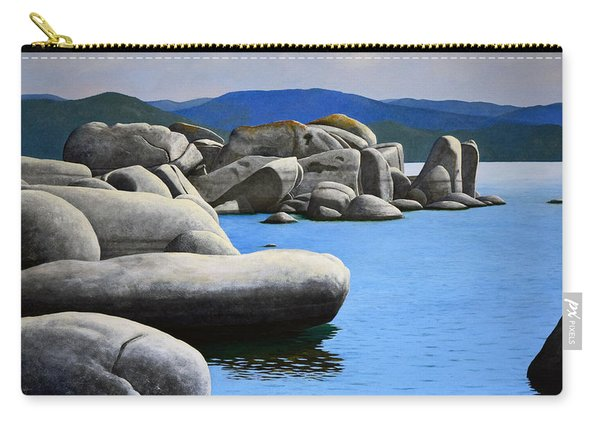 Lake Tahoe Rocky Cove Carry-all Pouch