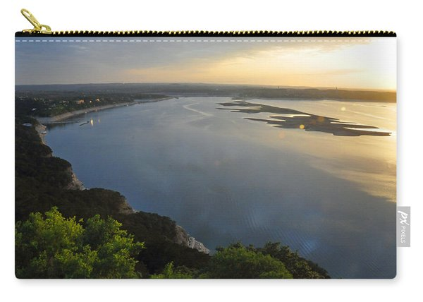 Lake Travis Sunset Carry-all Pouch