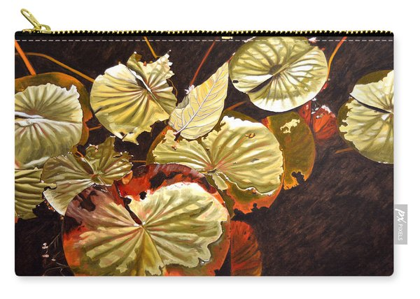 Lake Washington Lily Pad 11 Carry-all Pouch
