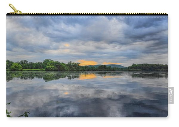 Lake Wausau Summer Sunset Panoramic Carry-all Pouch