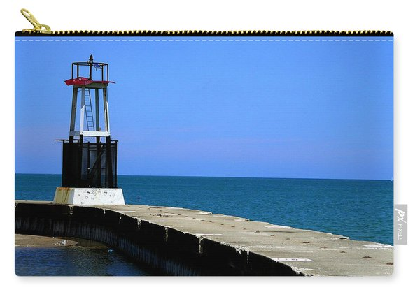 Lakefront Pier Tower Carry-all Pouch