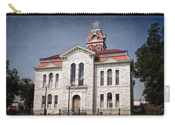 Lampasas County Courthouse Carry-all Pouch