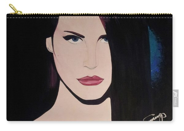Lana Del Rey Blue Eyes Carry-all Pouch
