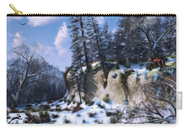 Land Of The Red Fox Carry-all Pouch
