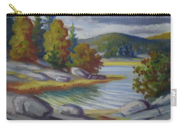 Landscape From Finland Carry-all Pouch