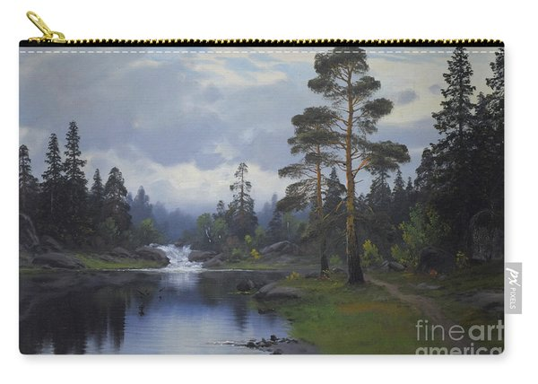 Landscape From Norway Carry-all Pouch