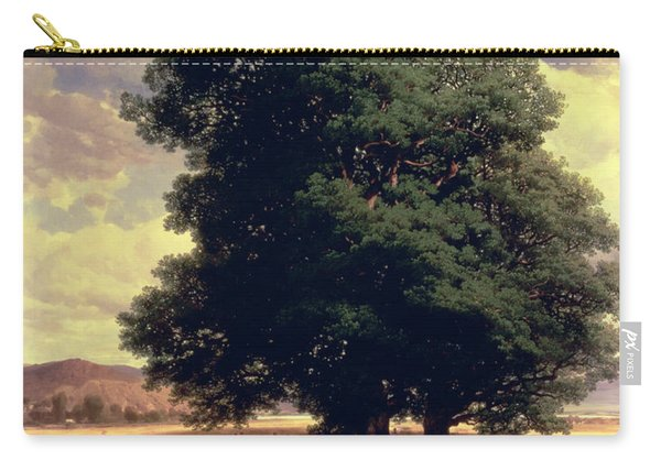 Landscape With Oaks Carry-all Pouch
