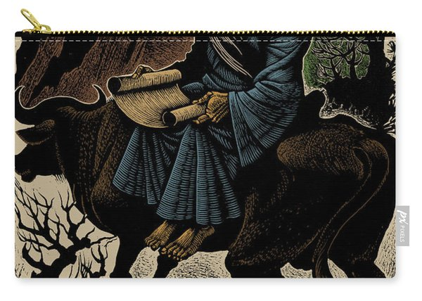 Laozi, Ancient Chinese Philosopher Carry-all Pouch