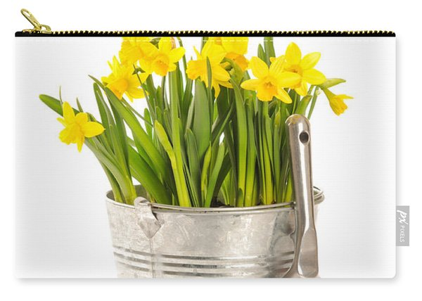 Large Bucket Of Daffodils Carry-all Pouch