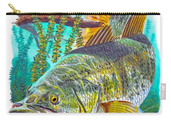 Largemouth Bass Carry-all Pouch