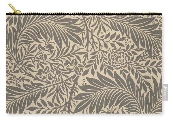 Larkspur Wallpaper Design Carry-all Pouch