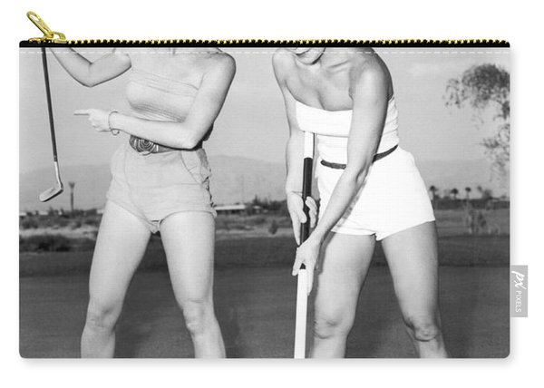 Las Vegas Showgirl Golf Carry-all Pouch